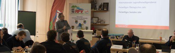 Hauptversammlung der Jugendfeuerwehr im RFV